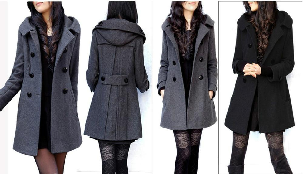 2018 Overcoat Women 2014 Plus Size Abrigos Trendy Women'S Wool ...