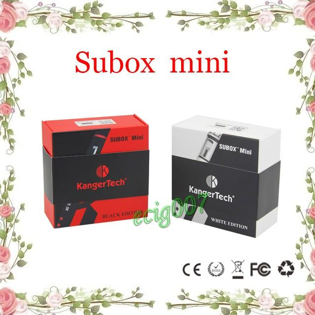 Kanger Subox mini Starter Kit Subtank Mini V2 0.5ohm OCC RBA Atomizadores Kbox mini batería Potencia variable 5W-50W subtank nano Clone