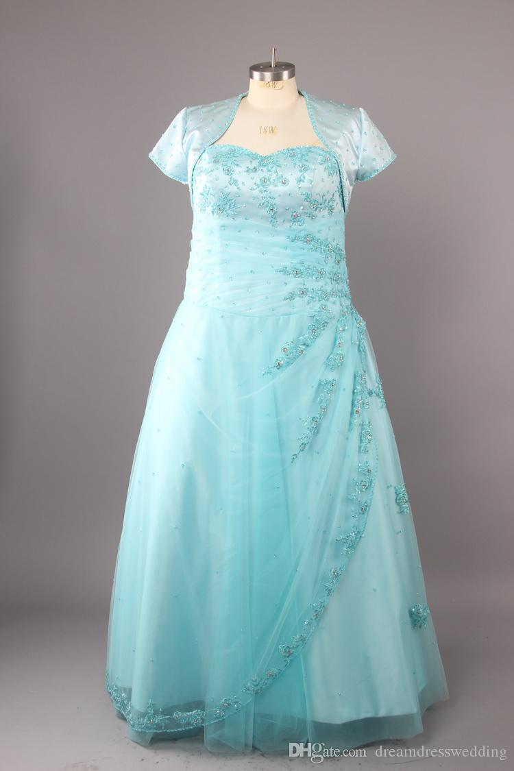 Discount 2015 Plus Size Wedding Dresses With Bolore Sweetheart A ...