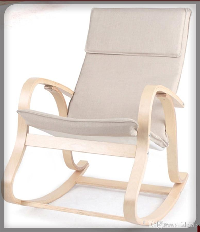 2018 Garden Furniture Bentwood Rocking Chair Glider Wicker Recliner 5  Design Relaxing Outdoor Bentwood Ikea Reclining Upholstered Paded Armchair  From Klphlp ...