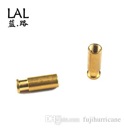 3D printer parts Reprap Ormerod 3D printer hot end Threaded/Notched brass union bowden start and end fitting ktcopper