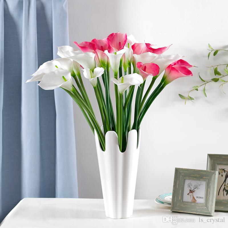 Artificial PU Calla Flower Multi Colors Romantic Wedding Gift Calla Lily Party Decoration for Sale SK601