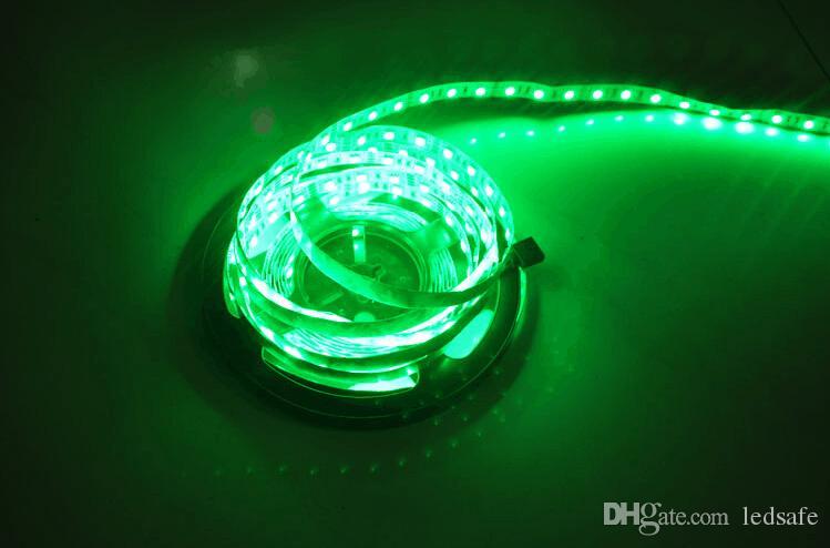 5M SMD 5050 300 LEDストリップライト12V防水暖かい白赤黄色の青い緑色の白いストリップIlumination照明ランプ送料無料セリウムROSH