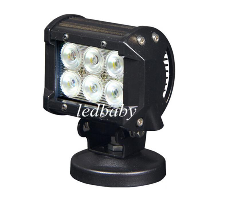 18 W Cree LED İş Işık Bar Motosiklet Traktör Tekne OffRoad 4WD 4x4 Motor-Bisiklet Kamyon SUV ATV Nokta Sel Işın Lambası 12 v 24 v