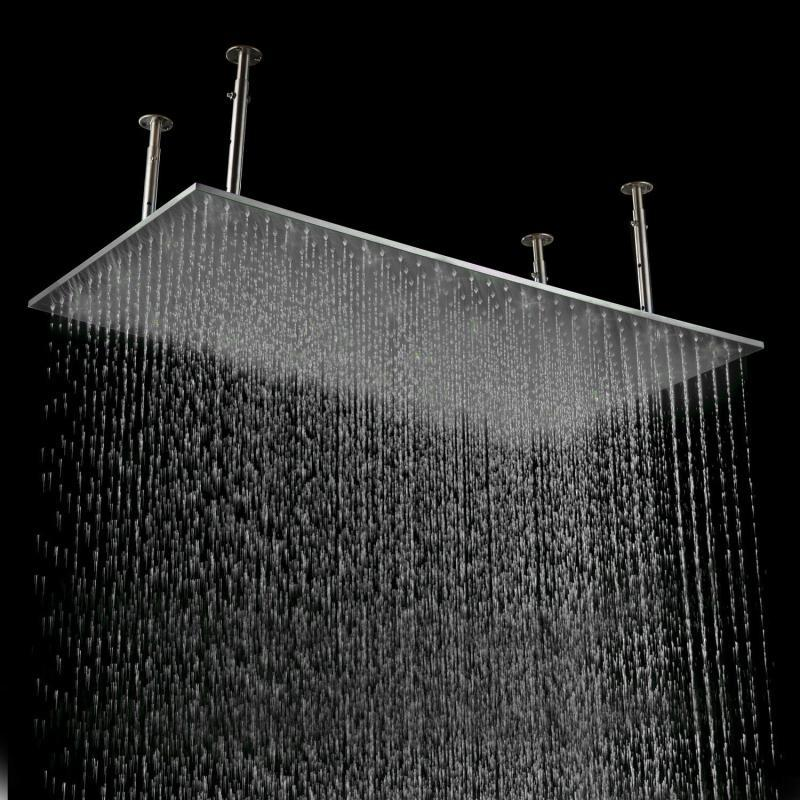 2018 500*1000mm Large Stainless Steel Rain Shower Head,Rectangle ...
