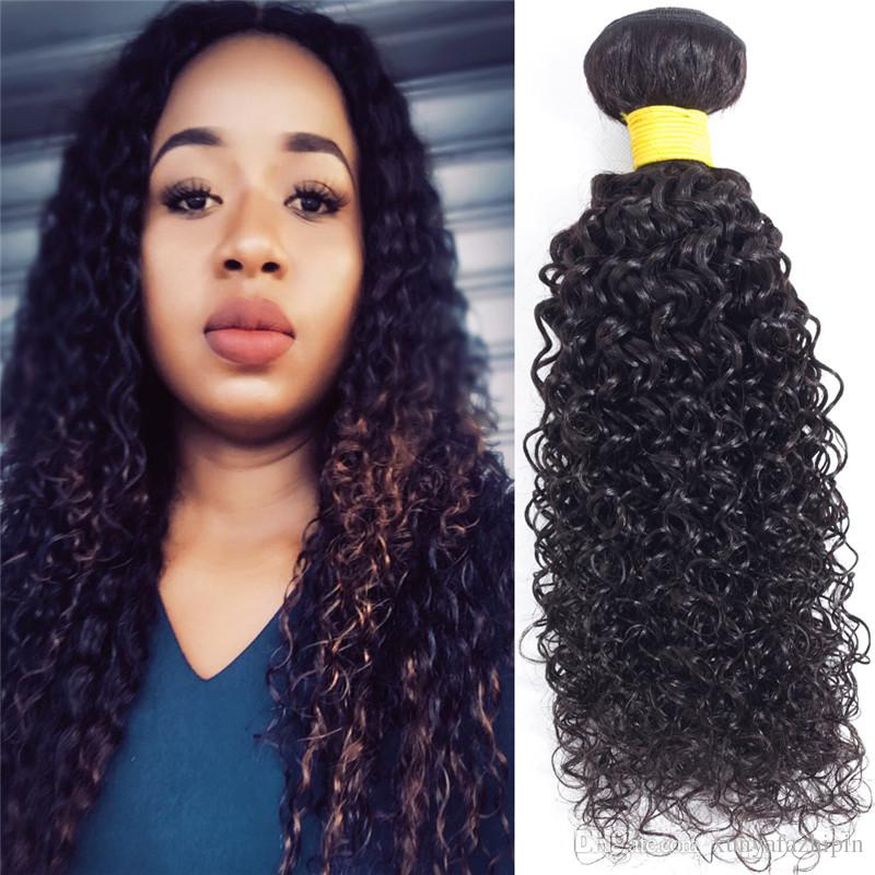 8a Brazilian Kinky Curly Hair 34 Bundles 100 Unprocessed Virgin
