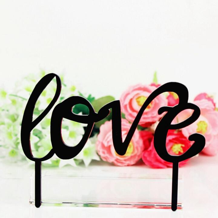 Love valentines day cake topper uk wholesale wedding decorations love valentines day cake topper uk wholesale wedding decorations wedding favors cake toppers for birthdays cheap wedding supplies outdoor wedding junglespirit Choice Image