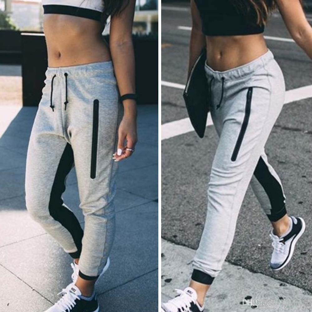 sells special promotion wide selection 2019 FASHION Womens Ladies Joggers Tracksuit Bottoms Trousers Gym Jogging  Sweat Pants From Salamoer, $7.03 | DHgate.Com