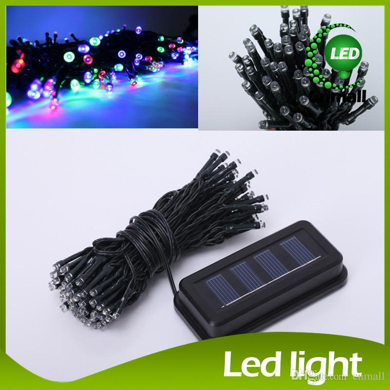 LED Solar String 13m 100LEDs Fairy Light Waterproof Energy-saving Thanksgiving Christmas LED Strings Wedding Lights New Year Decoration