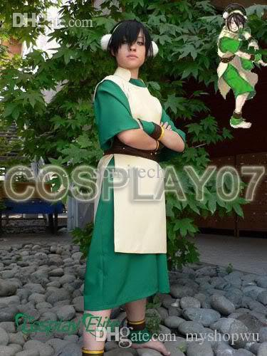 wholesale avatar the last airbender toph beifong cosplay costume custom made halloween costumes japanese anime cosplay female from myshopwu 7571 dhgate