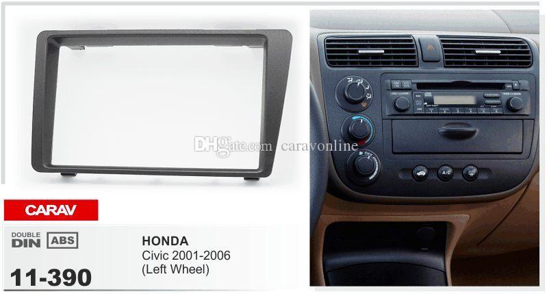 Carav 11 390 Dash Cd Panel For Honda Civic 2001 2006 Left Wheel Rhdhgate: 2006 Honda Civic Radio Panel At Gmaili.net