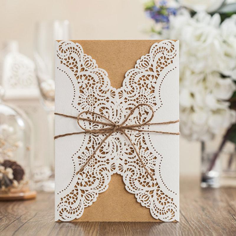 2019 2015 New Laser Cut Wedding Invitations Free Customize Birthday Invitation Cards White Party Card For From Photography