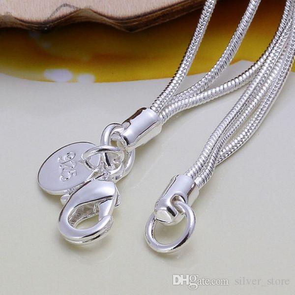 حار بيع أفضل هدية 925 الفضة تاي تشي شنق ثلاثة فراشة سوار DFMCH166، والعلامة التجارية الجديدة 925 الفضة الاسترليني الأساور ربط سلسلة مطلي