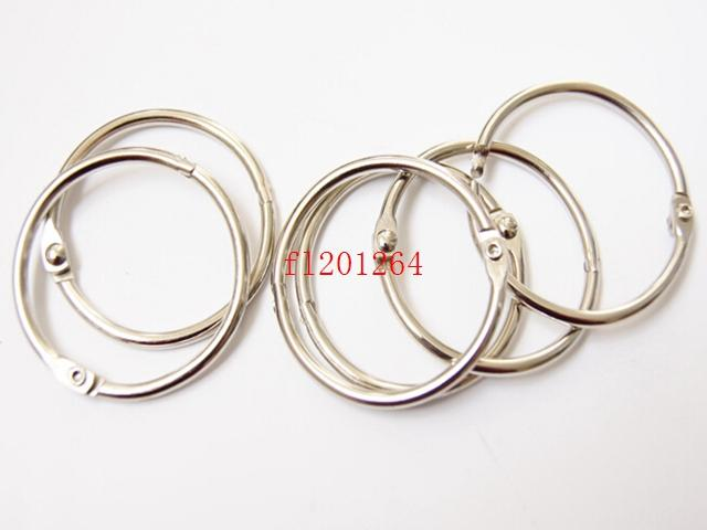 Hot Sale 50mm Book Hoop Binding Ring Binder Hoop Loose Leaf Ring DIY keyring
