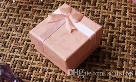 Regali di Natale Scatole avvolgere Anello feste Orecchini Cofanetto Bracciale Scatole gioielli Scatole bomboniere Custodia articoli da regalo Custodia ZJ-T11