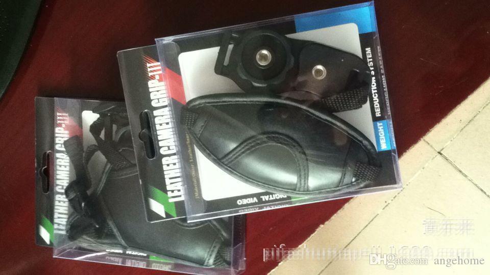 Qualität PU-lederner weicher Handgriff-Handgelenk-Bügel für Nikon Canon Sony SLR / DSLR Kamera mit Kleinkasten