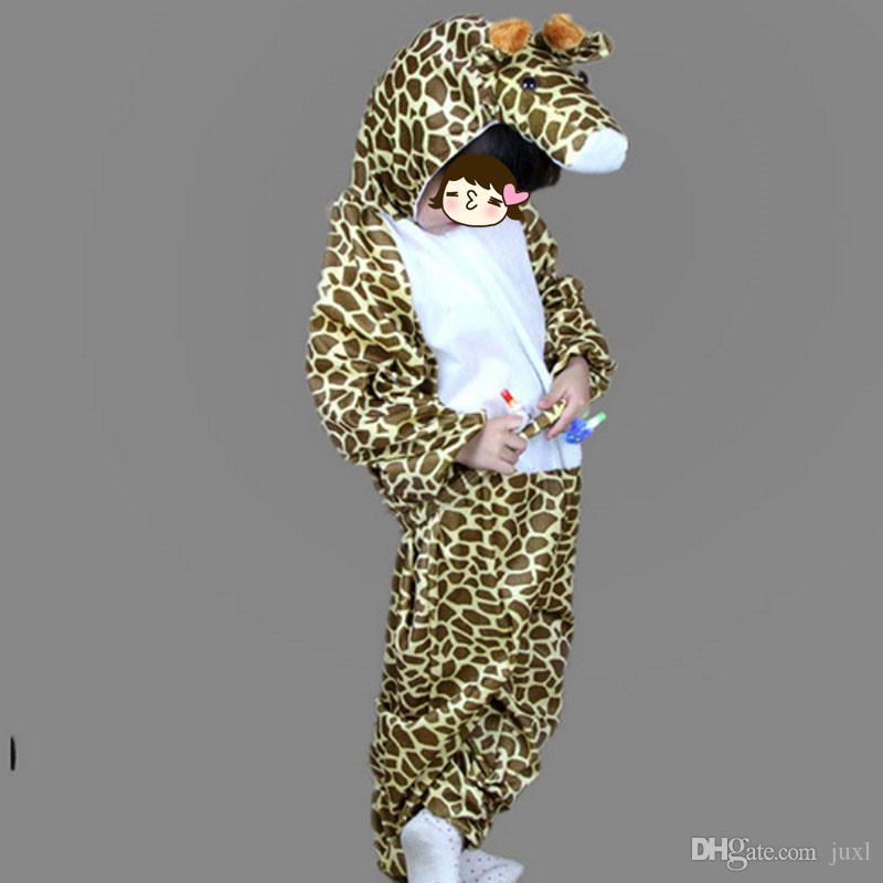Children Various Animal Costume for Kids Rabbit Pig Tiger Fox Wolf Frog Horse Monkey Anime Theme Cosplay Jumpsuits Hallowmas Costume Boy