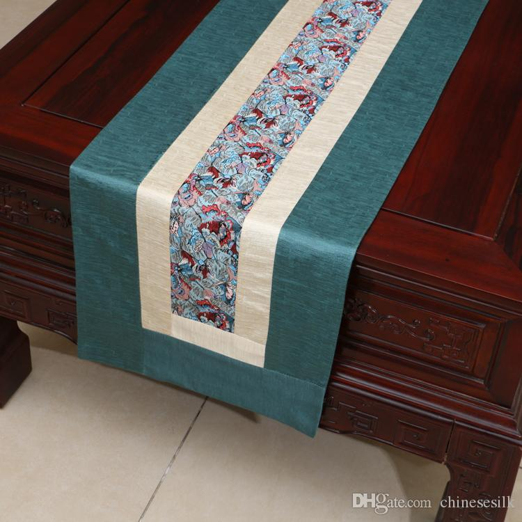 Extra Long 120 Inches Table Runners Rustic Patchwork