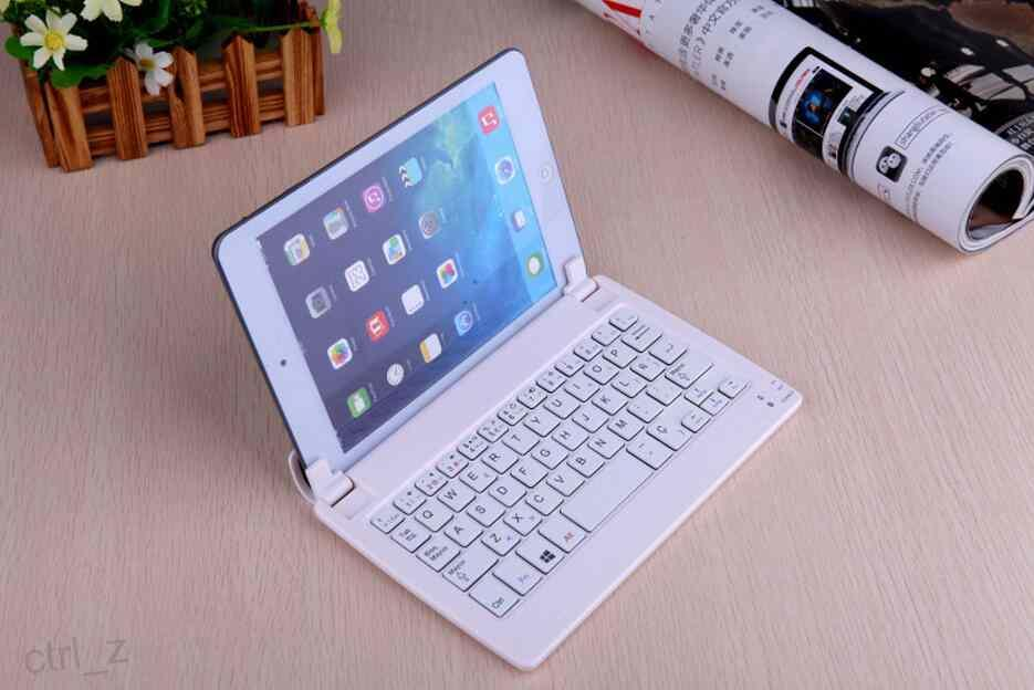 Universal Wireless Bluetooth Keyboard Stand For 8 inch Tablet PC Windows 10 Android ios System Samsung tab 8.0 with retail package
