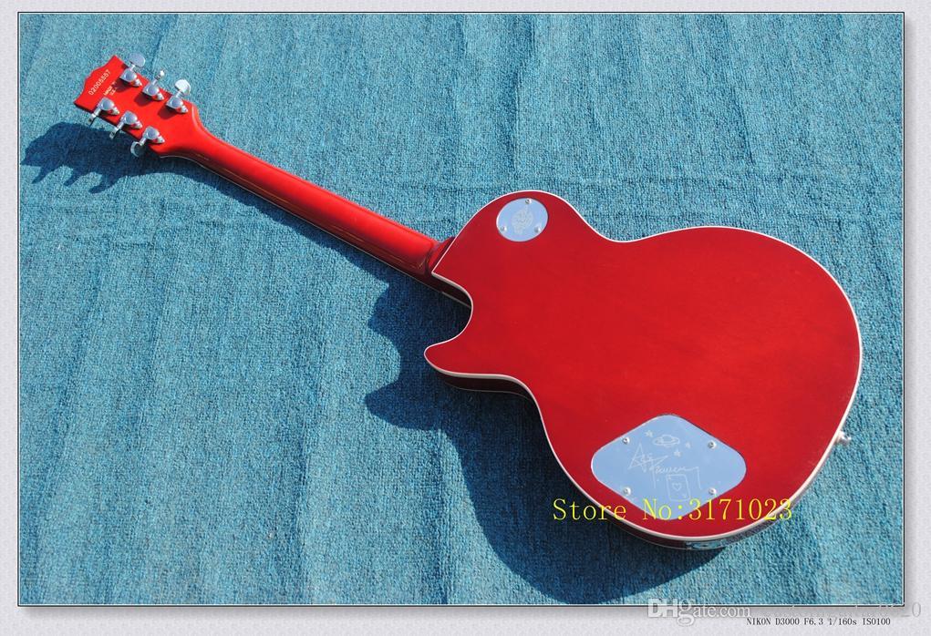 Chegada nova Cherry Burst Ace Frehley Guitarra Elétrica Atacado Da China HOT