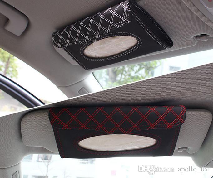 Online Cheap Wine Red Sun Visor Tissue Box High End Car Leather Tissue Box With Tissue Two Color Optional By Apollo_led | Dhgate.Com & Online Cheap Wine Red Sun Visor Tissue Box High End Car Leather ... Aboutintivar.Com