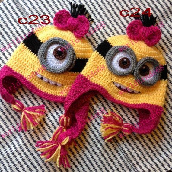 2018 Hot Sale Crochet Pattern Cartoon Despicable Me Minion Ish