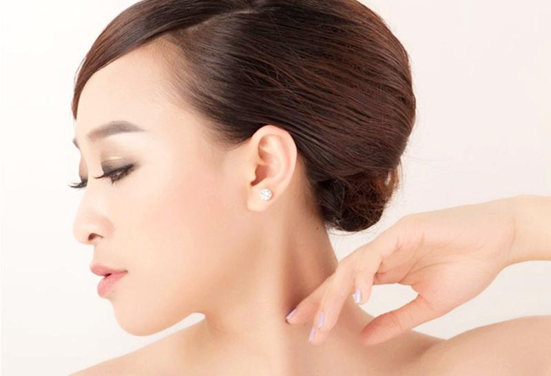 925 Silber Ohrringe natürlichen Kristall Großhandel Mode kleine Sterling Silber Schmuck für Frauen Stud Männer oder Frauen Ohrringe