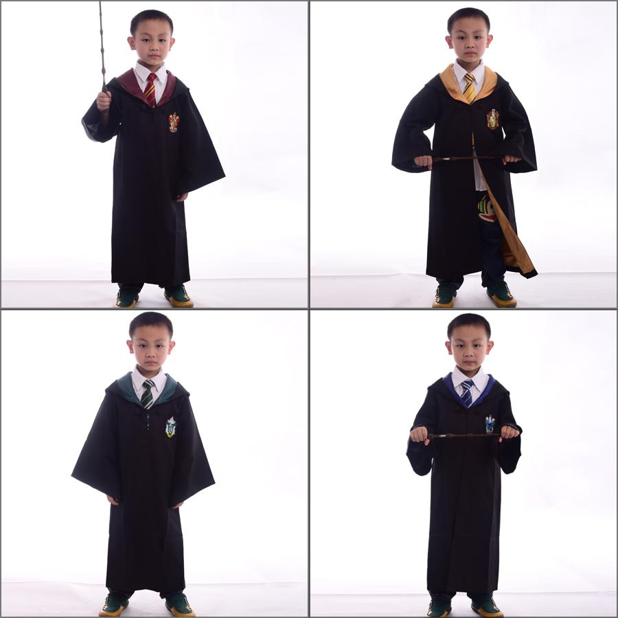 Children Harry Potter Cloak Gryffindor/Slytherin/Ravenclaw ...
