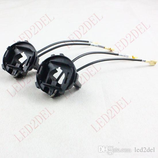 H7 HID Xenon Ampul Dönüşüm Tutucu Adaptörü Soket Tabanı VW GOLF 6 için 7 MK MK7 Tiguan Scirocco Sharan Touran Uyar: Volkswagen