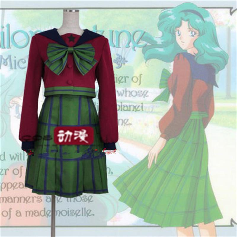 Compre Kukucos Pretty Soldier Sailor Moon S Kaiou Michiru Tomoe Hotaru  Neptune Cosplay A  99.49 Del Kukucos  0bc7316c9a70