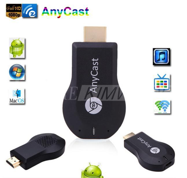 Новый Anycast м2 плюс DLNA Airplay WiFi дисплей Miracast Dongle HDMI Multidisplay 1080P приемник AirMirror мини Android TV Stick лучше ezCast