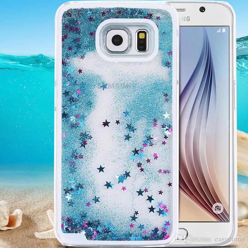 samsung s6 cases glitter liquid