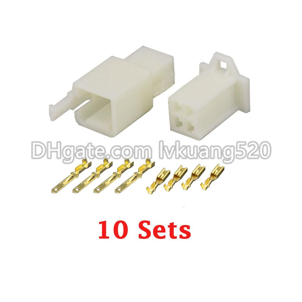 2018 /Kits 2.8 4 Pin/Way Dj7041a 2.8 Electrical Wire Connector Plug ...