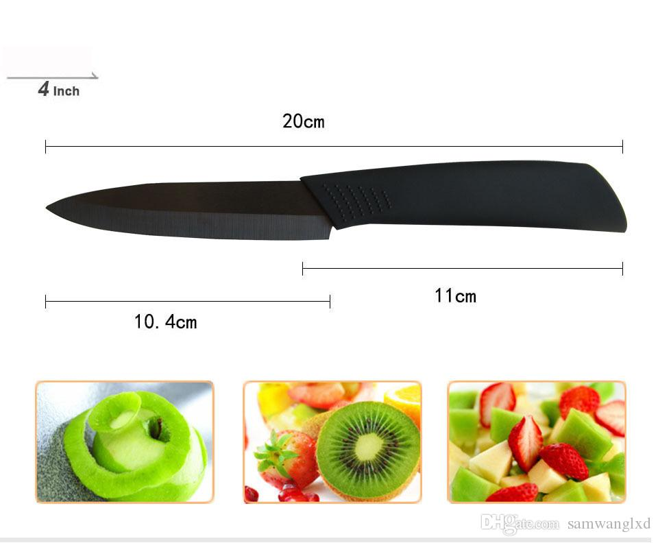 """Hot Selling Beauty Gifts Zirconia Ceramic kitchen knife set 3"""" 4"""" 5"""" inch+peeler+Covers No Holder Kitchen Knives & Accessories"""