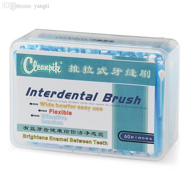 Wholesale-Push-Pull Interdental Brush Teeth Cepillo Escova ...