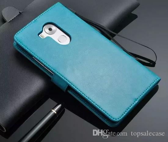 Selecteerbaar voor Huawei Mate 8 Case Stand Ultra-Thin Cover Luxe Originele Kleurrijke Flip Portemonnee Leren Case voor Huawei Ascend Mate 8