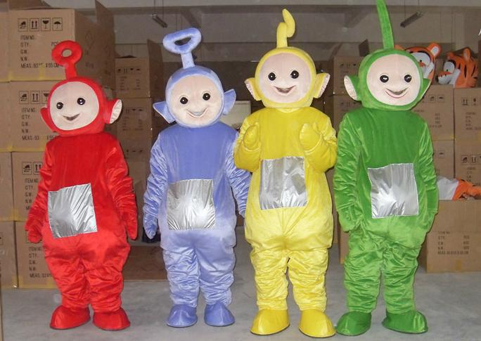 hot fashion mascot teletubbies mascot costumes halloween costume christmas party midevil costumes barney mascot costume from wall street 15578 dhgate