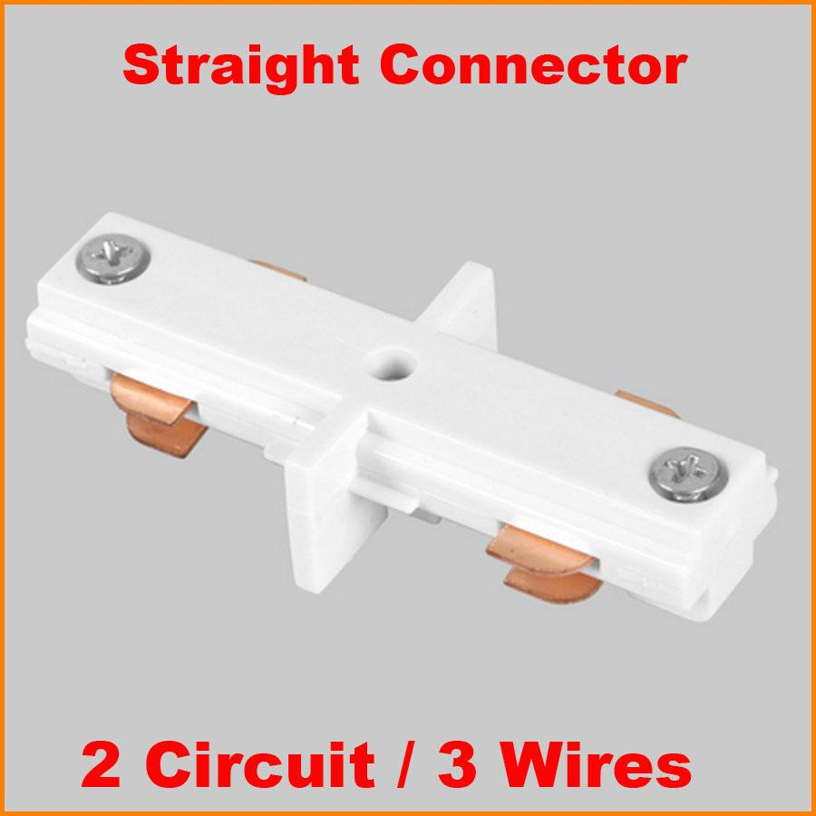 2018 3 Wire 2 Circuit Phase Led Lighting Track Connector For Joining ...