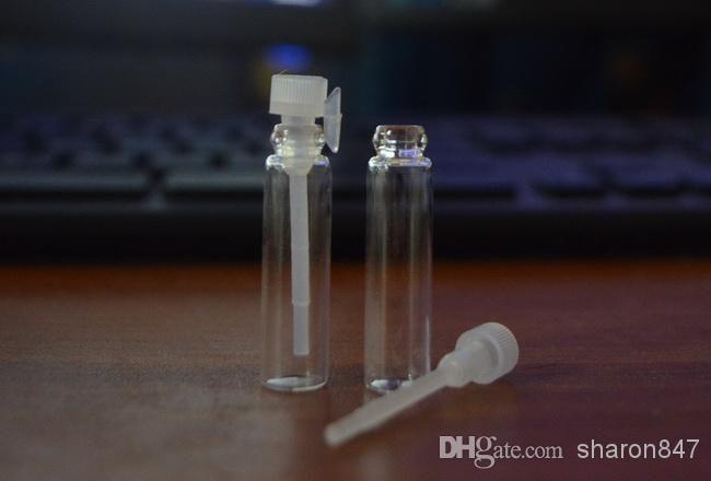 1ML/2ML /3ML Empty Liquid Sample Glass Bottle Perfume Vials Empty Tubes DHL Free