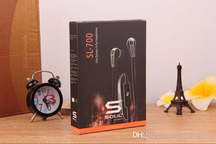 iPhone 6s 6 5s 5 Artı Mobil Telefon MP3 Kulaklık Sport Kulaklık için Mic ile Ludacris Kulaklık By ucuz İyi Kalite Soul Mini SL700