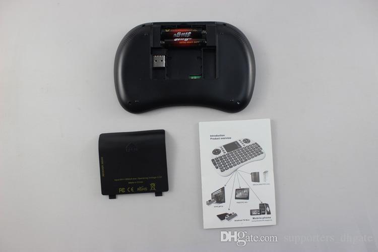 Rii Mini i8 беспроводные клавиатуры Air Mouse game пульт дистанционного управления сенсорная панель портативная клавиатура для TV BOX Android Smart TV Box HTPC Mini PC