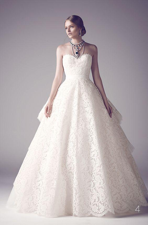 Princess Lace Wedding Dresses Sweetheart Puffy Tulle Ruffles Bridal Gowns Custom Made Floor Length Open Back Wedding Gowns