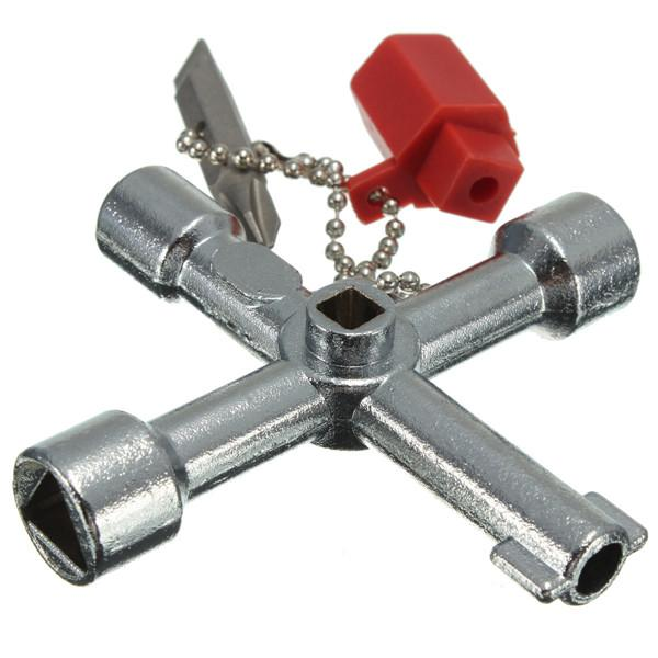 Discount 5 In 1 Cross Switch Key Wrench With Accessories