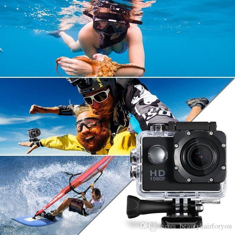 PLEIN HD En Plein Air 30 M Sport Etanche Selfie Caméra Caméra Vidéo DV Caméscope 1080 P Grand Angle Classé