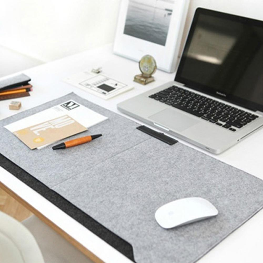 2018 Whole Locking Edge Desk Mat Large Grey Laptop Keyboard Computer Table Gaming Mice Pad Protect Wrist Warm From Aldrichy