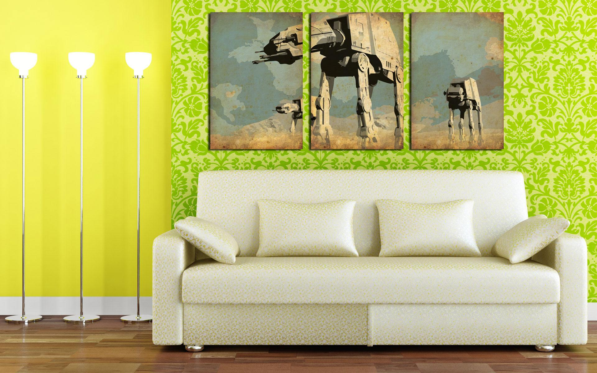 2017 Hd Canvas Print Home Decor Wall Art Painting No Frame Star