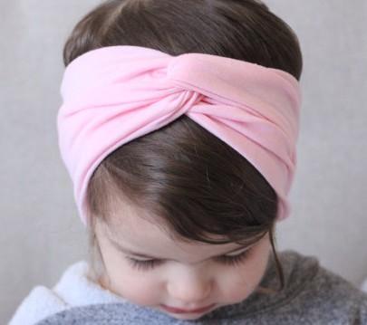 Hot Baby Hairband European Babys Haarband 2015 Mode Säuglingsmädchen Nettes Kreuz Elastisches Tuch Haarbänder Kinder Zubehör I4257