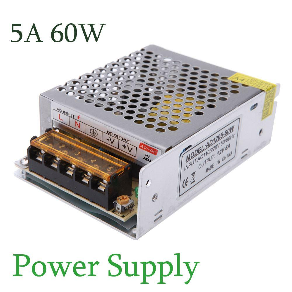 12v 5a Switching Power Supply Schematic Wiring Diagrams Dc 5v And Using 2n3055 Lm309 2018 Ac 110v 220v To 60w Voltage Transformer Led With