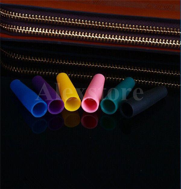 Silikon Ağızlık Kapak Damla İpucu Tek Kullanımlık Renkli Silikon test caps kauçuk uzun Test İpuçları Tester Cap 510 ego driptip e çiğ için DHL