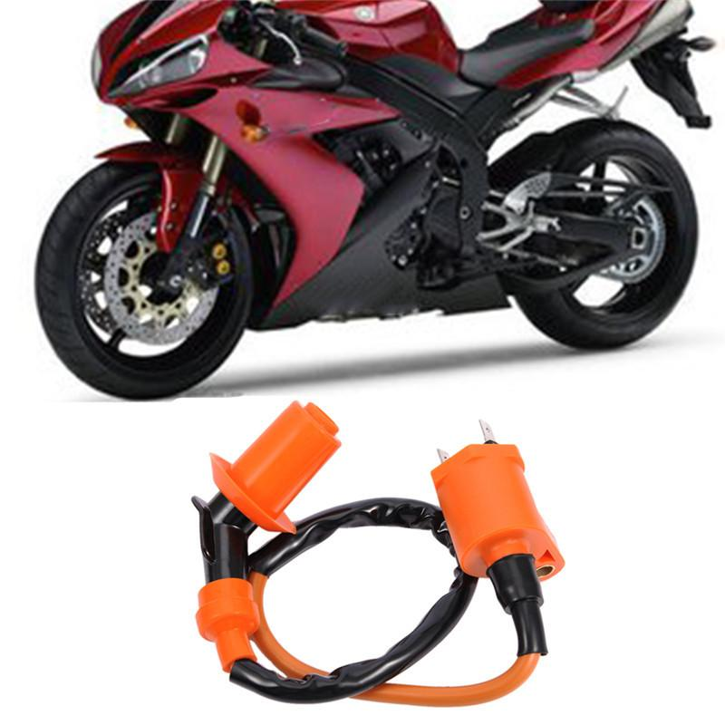 Honda Için yüksek Kalite Motosiklet Ateşleme Bobini Için Suzuki GY6 Motor 150CC JIC-005 Scooter Moped ATV